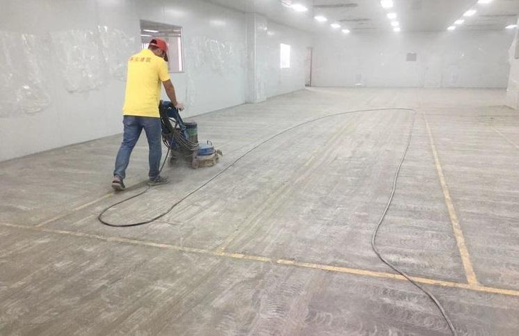 地坪研磨至硬质层