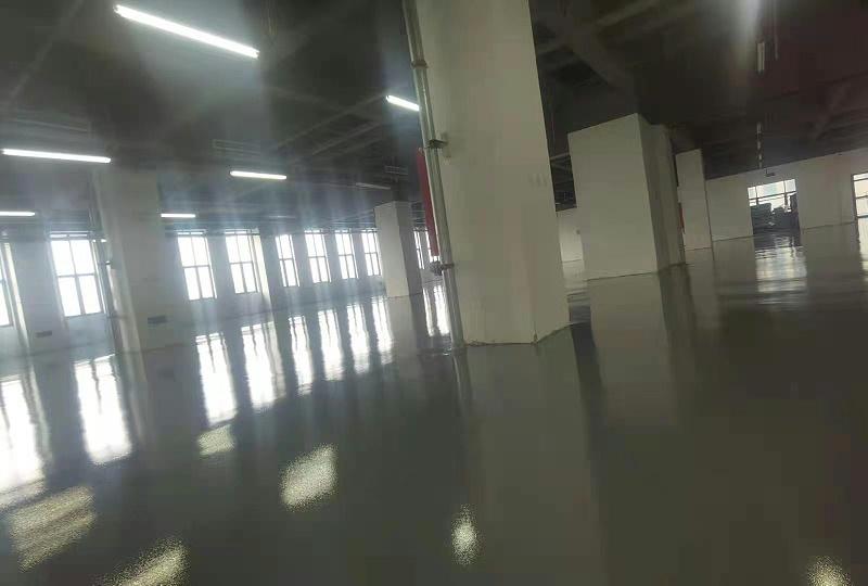 冀德医药车间地坪选用美西卡超耐磨聚氨酯地坪漆