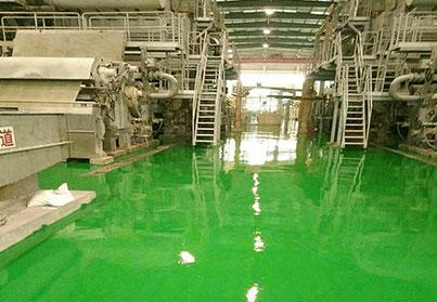 美西卡为柳州两面针牙膏厂设计工厂环氧地坪方案