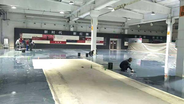 环氧树脂地坪漆油污的处理方法!