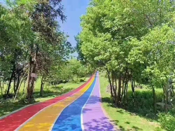 彩色路面地坪解决方案