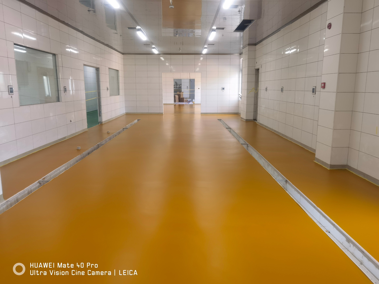 湘潭中央厨房使用聚氨酯砂浆地坪案例