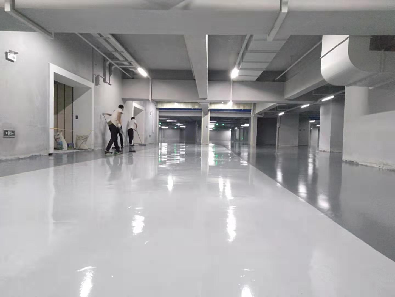 美西卡为北京国家电网建设防静电自流平环氧地坪