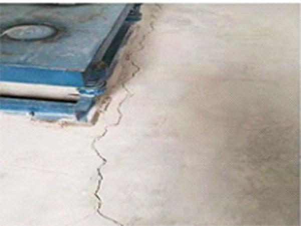 裂缝地面修补方法
