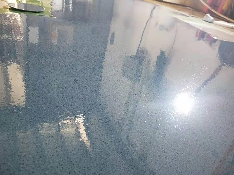 无溶剂环氧彩砂自流平地坪系统
