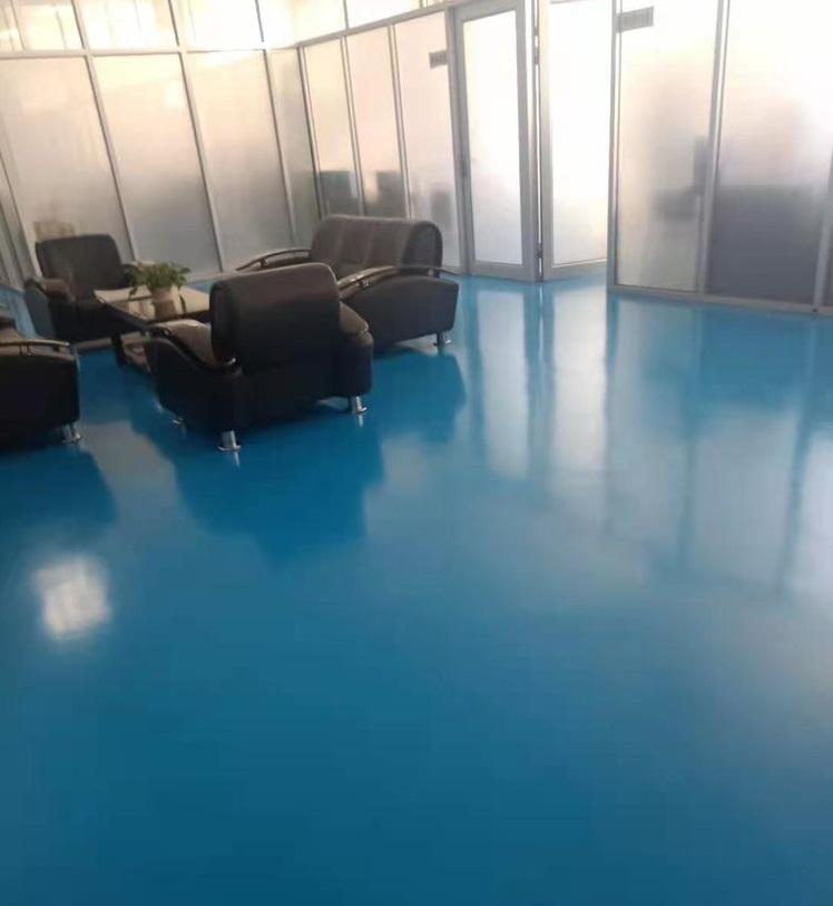 办公室聚氨酯地坪