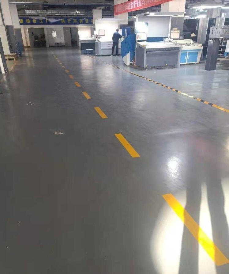 印刷厂耐磨聚氨酯地坪