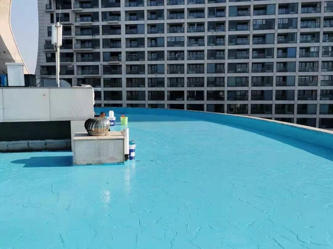 屋顶花园地面改造选用哪种地坪漆?美西卡高强度聚氨酯地坪!